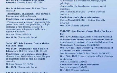 Corso di Formazione su Salute Riproduttiva e Procreazione Medica Assistita